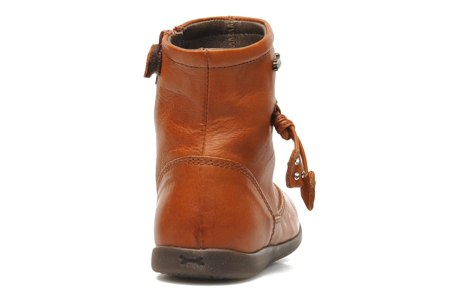 Ankle boots Stones and Bones MAIL Brown view from the right