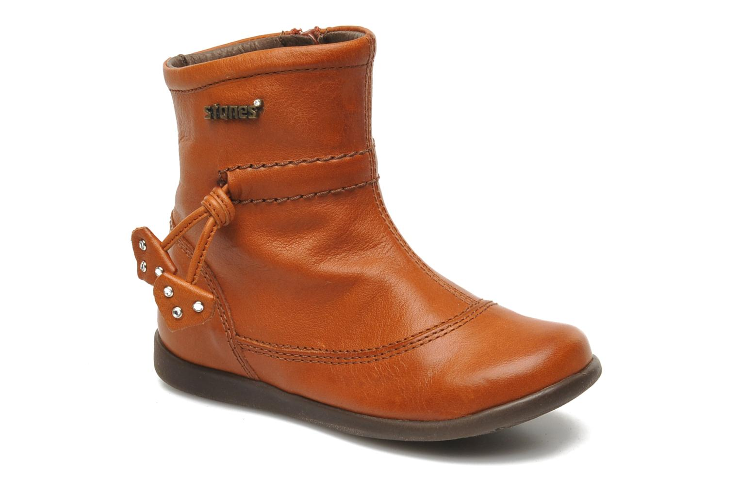 Ankle boots Stones and Bones MAIL Brown detailed view/ Pair view