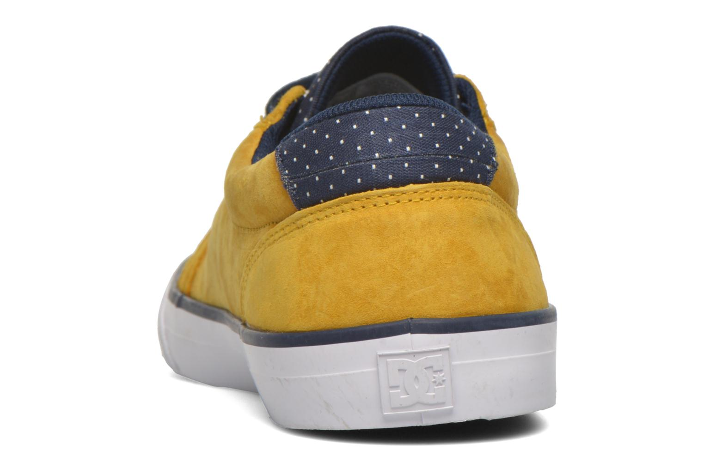 Baskets DC Shoes Council Se Jaune vue droite