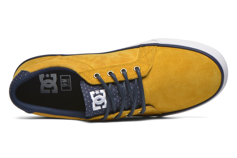 Baskets DC Shoes Council Se Jaune vue gauche