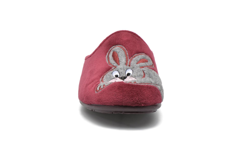 Tofflor La maison de l'espadrille Lou Vinröd bild av skorna på