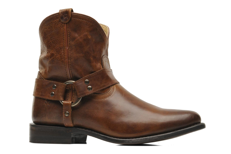 Bottines et boots Frye Wyatt Harness Short Marron vue derrière