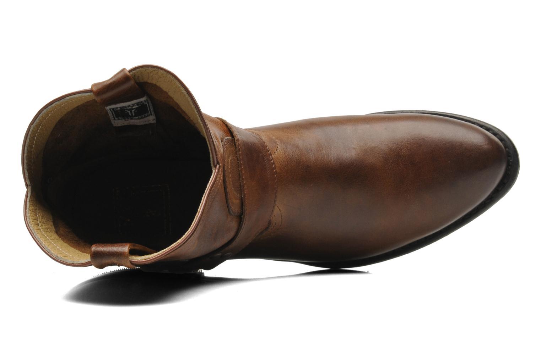 Bottines et boots Frye Wyatt Harness Short Marron vue gauche