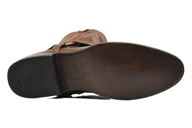 Bottines et boots Frye Wyatt Harness Short Marron vue haut