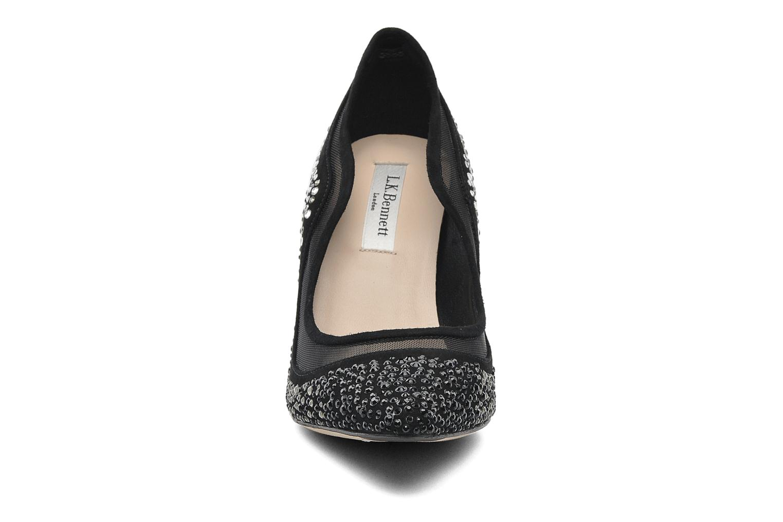 High heels L.K. Bennett FAYE Black model view