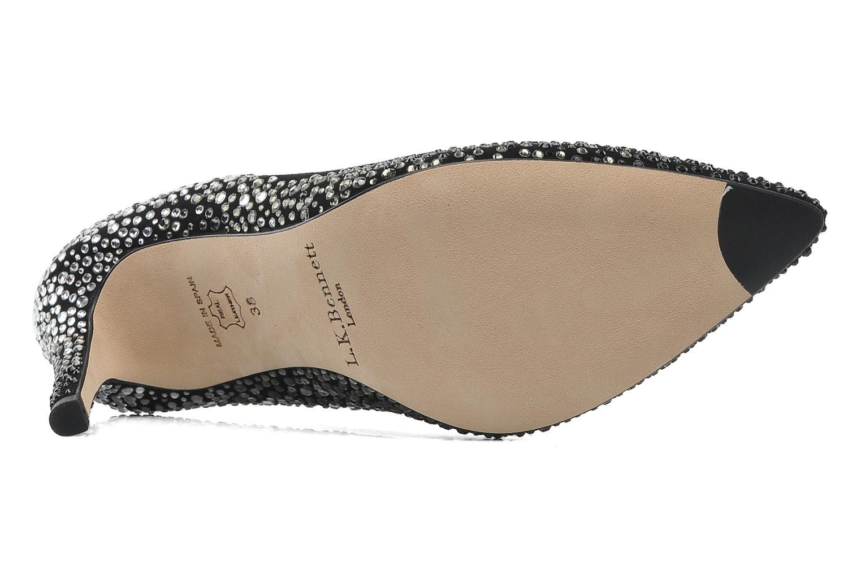 High heels L.K. Bennett FAYE Black view from above