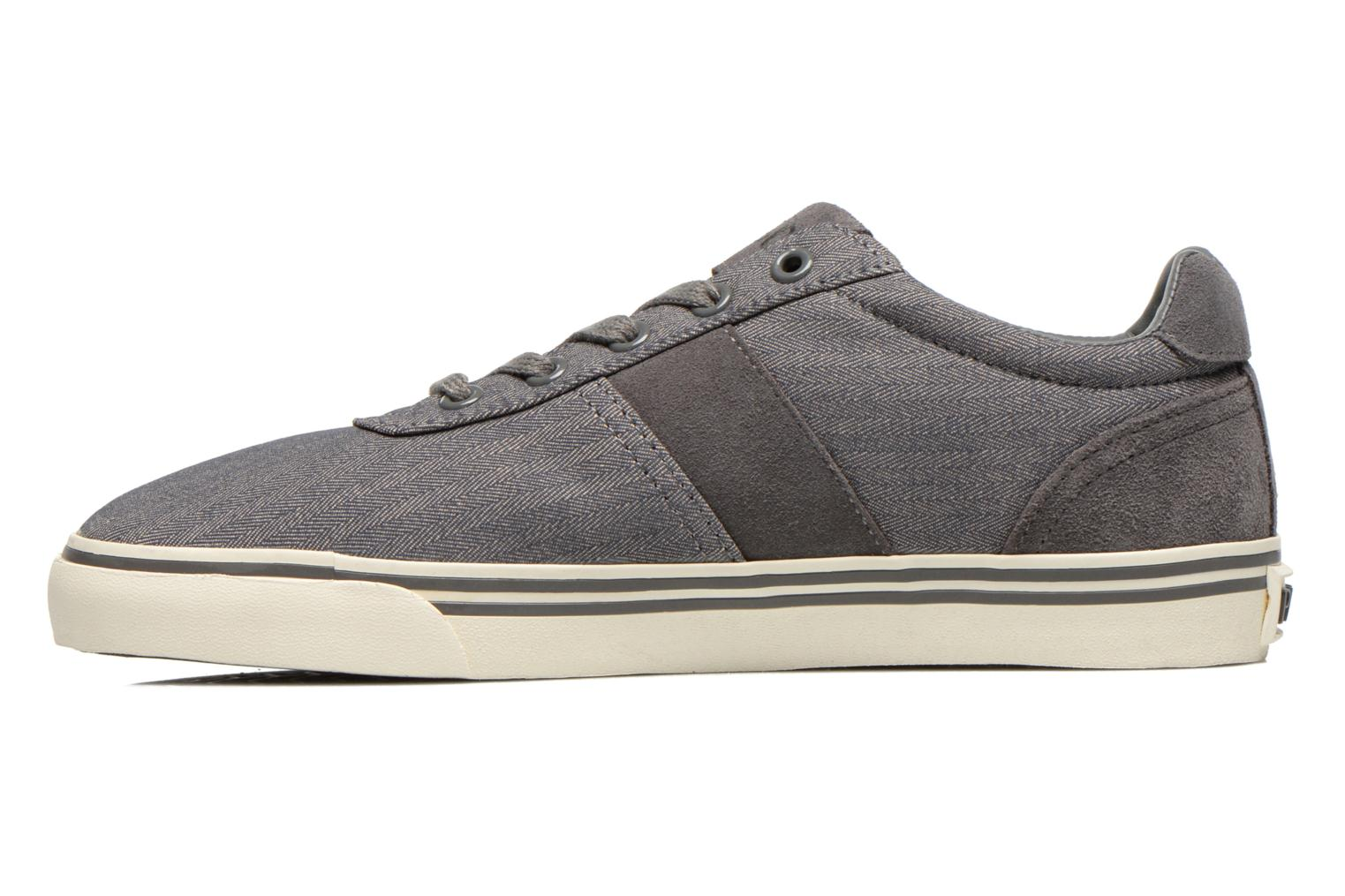 Baskets Polo Ralph Lauren Hanford-Ne Gris vue face