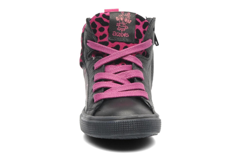 Sneakers Acebo's Modinette Nero modello indossato