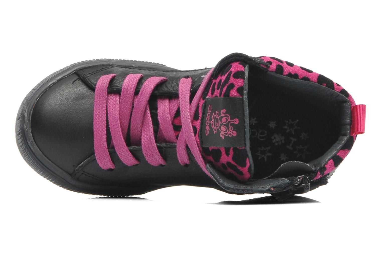 Sneaker Acebo's Modinette schwarz ansicht von links
