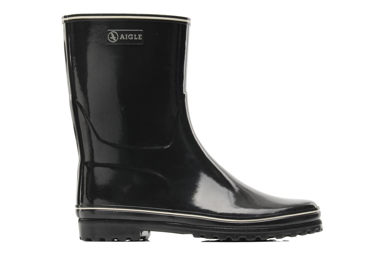 Ankle boots Aigle Venise Bottillon Black back view