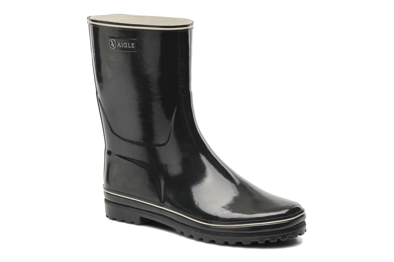 Ankle boots Aigle Venise Bottillon Black detailed view/ Pair view