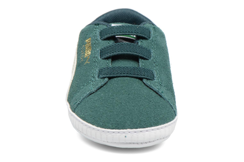 Sneaker Puma Suede Crib grün ansicht von vorne