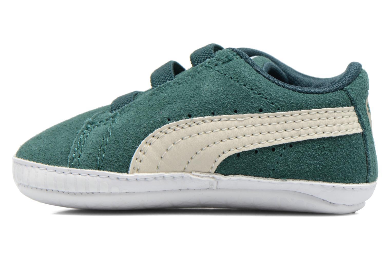 Sneaker Puma Suede Crib grün ansicht von rechts