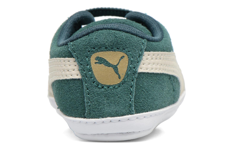 Baskets Puma Suede Crib Vert vue derrière