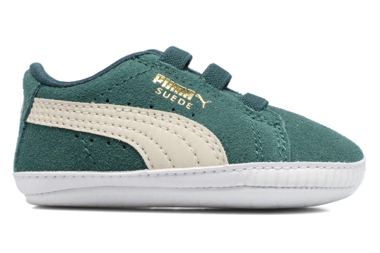 Sneaker Puma Suede Crib grün ansicht von links
