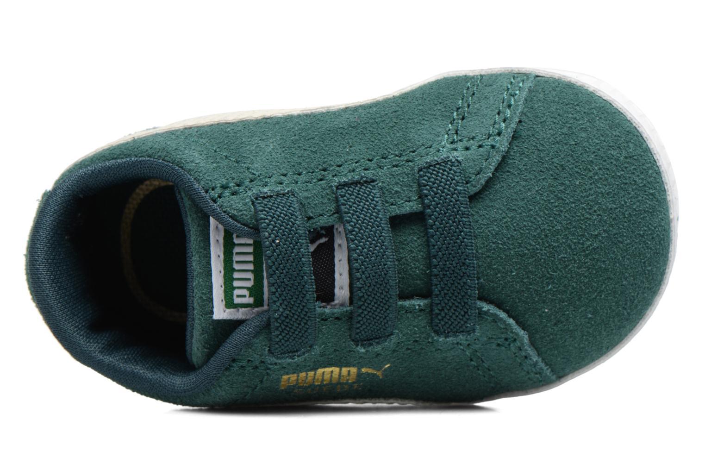 Sneaker Puma Suede Crib grün ansicht von oben