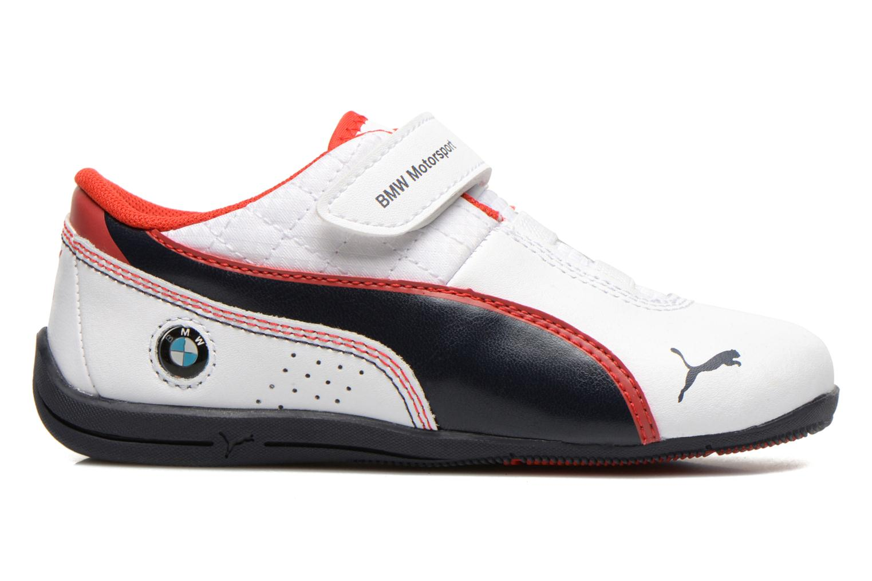 Sneaker Puma KDS DRIFT CAT6 L BMW V. weiß ansicht von hinten