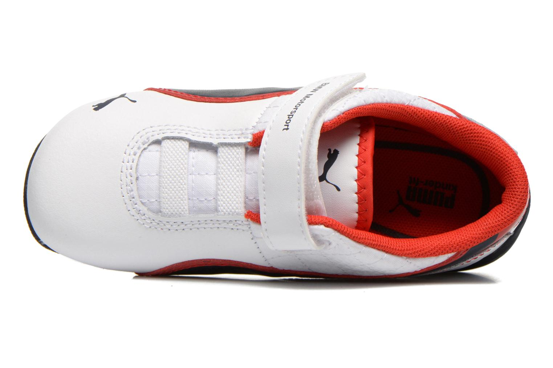Sneaker Puma KDS DRIFT CAT6 L BMW V. weiß ansicht von links