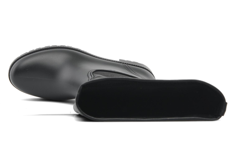 Botas Guess Rainse Negro vista lateral izquierda