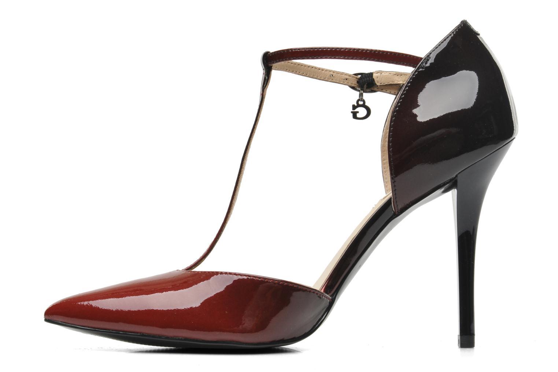 Zapatos de tacón Guess Teren Rojo vista de frente
