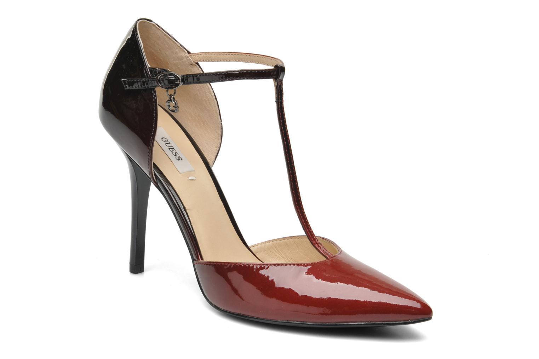 Zapatos de tacón Guess Teren Rojo vista de detalle / par
