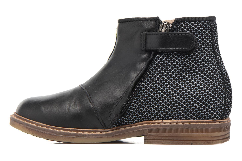 Stiefeletten & Boots Pom d Api RETRO BACK schwarz ansicht von vorne