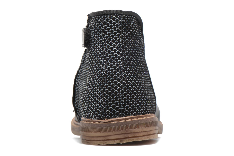 Bottines et boots Pom d Api RETRO BACK Noir vue droite