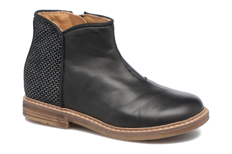 Stiefeletten & Boots Pom d Api RETRO BACK schwarz detaillierte ansicht/modell