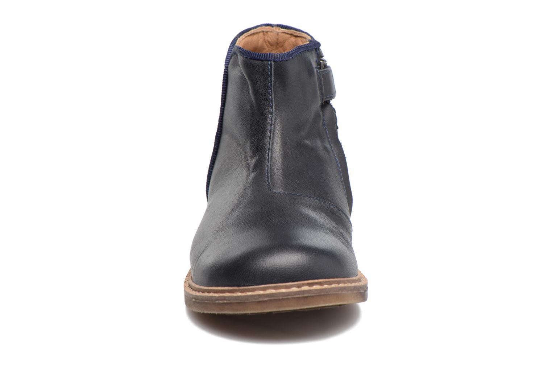 Stiefeletten & Boots Pom d Api RETRO BACK blau schuhe getragen