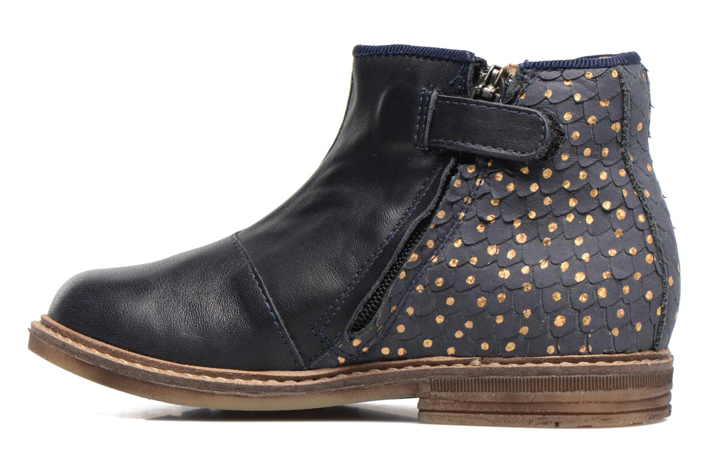 Stiefeletten & Boots Pom d Api RETRO BACK blau ansicht von vorne