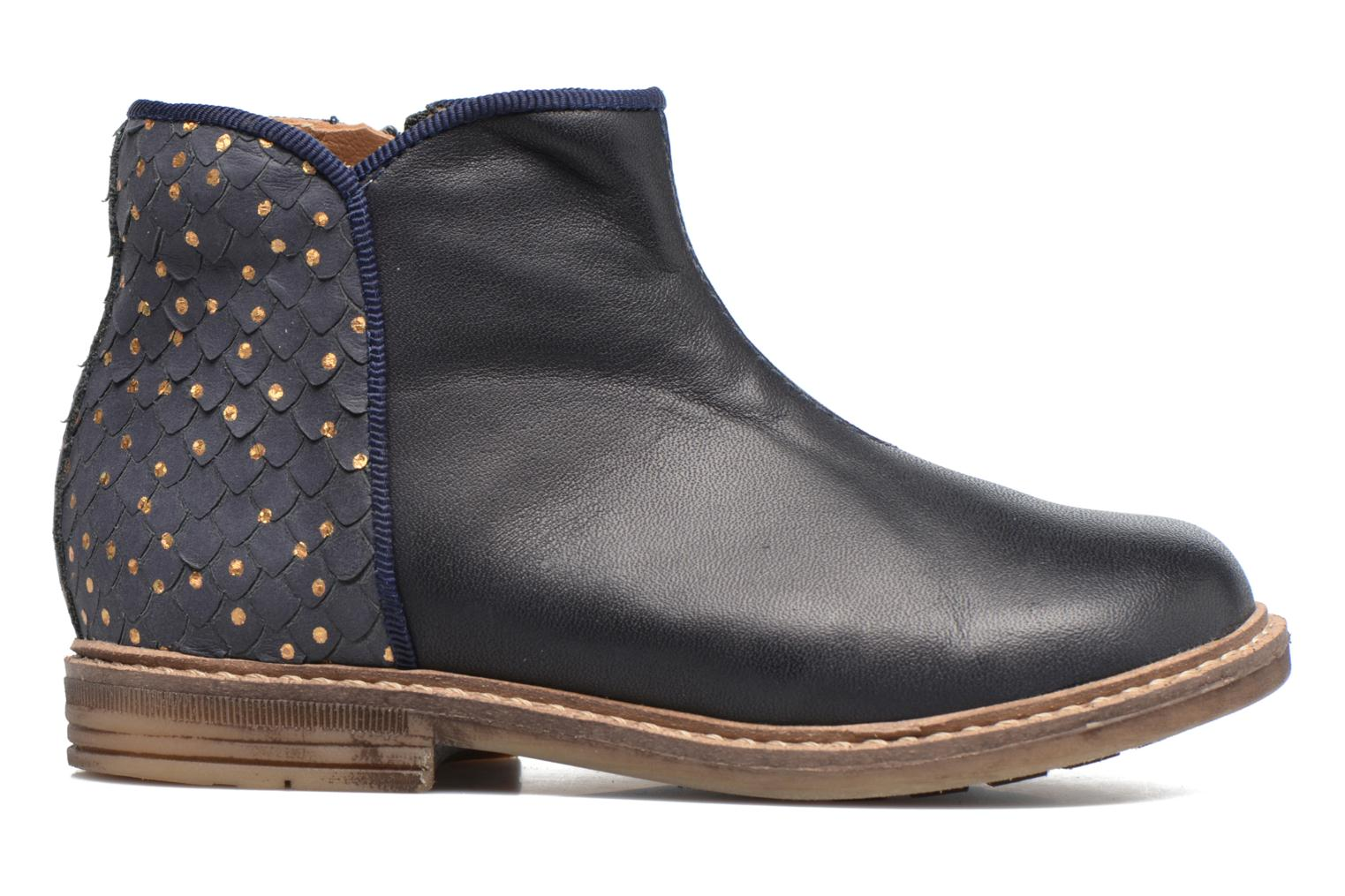 Ankle boots Pom d Api RETRO BACK Blue back view