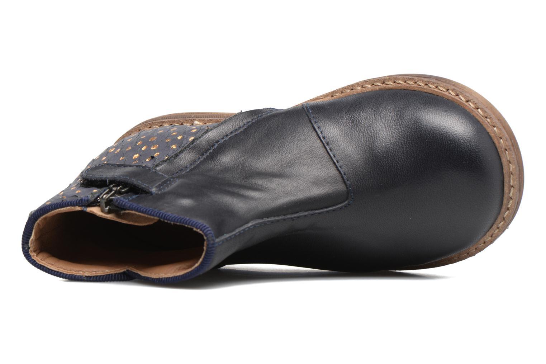 Stiefeletten & Boots Pom d Api RETRO BACK blau ansicht von links