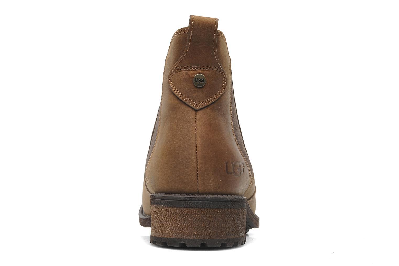 Bottines et boots UGG Bonham Marron vue droite