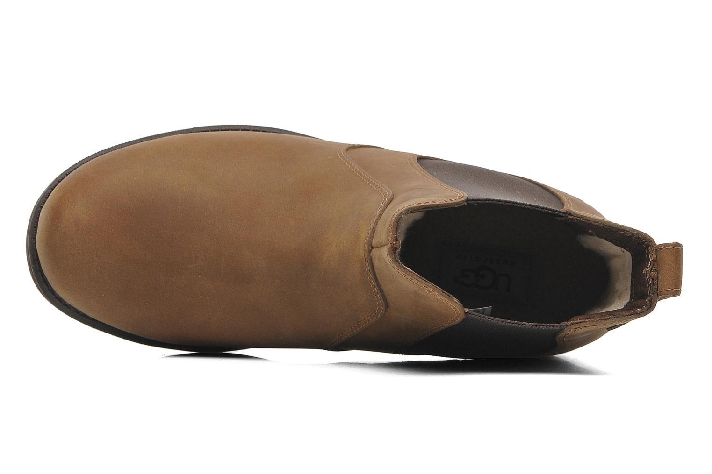 Bottines et boots UGG Bonham Marron vue gauche
