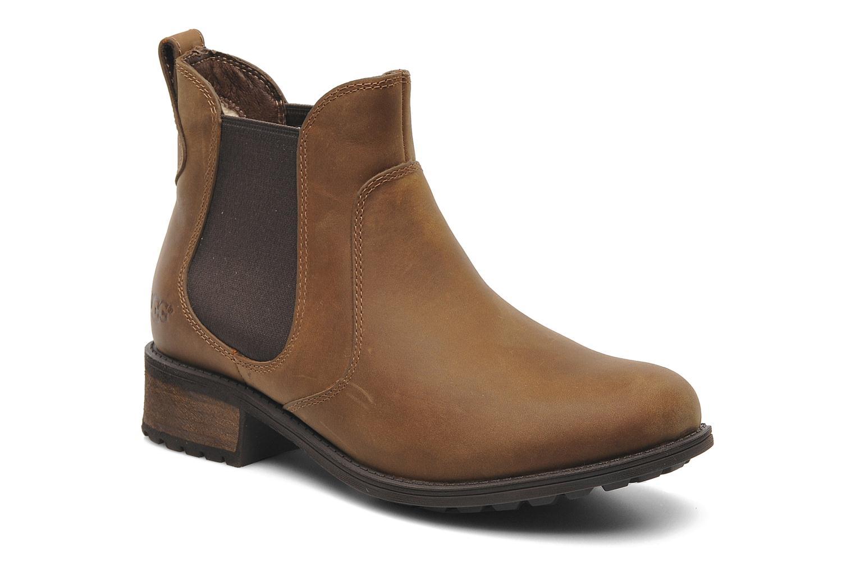 Bottines et boots UGG Bonham Marron vue détail/paire