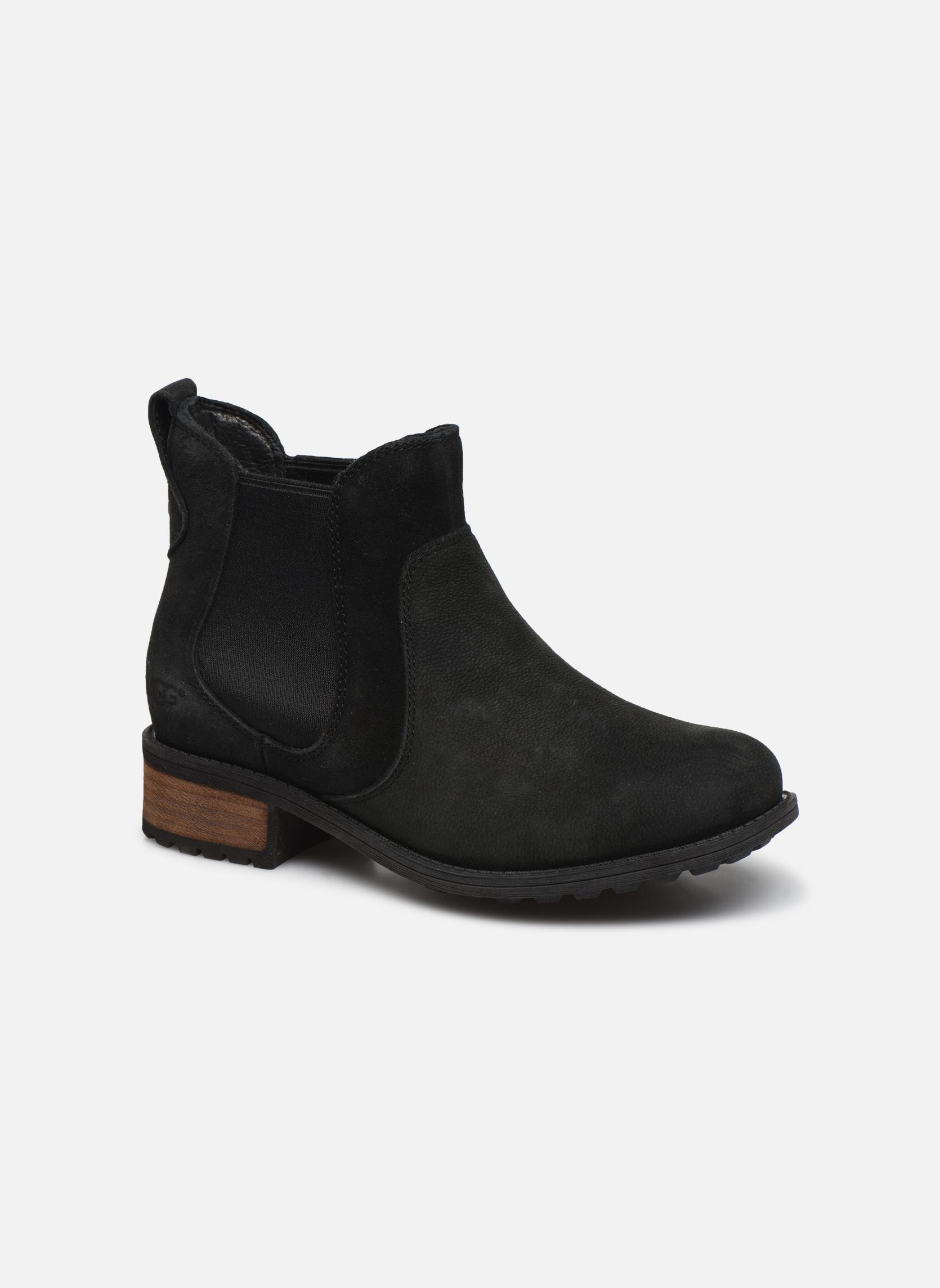 Bottines et boots UGG Bonham Noir vue détail/paire