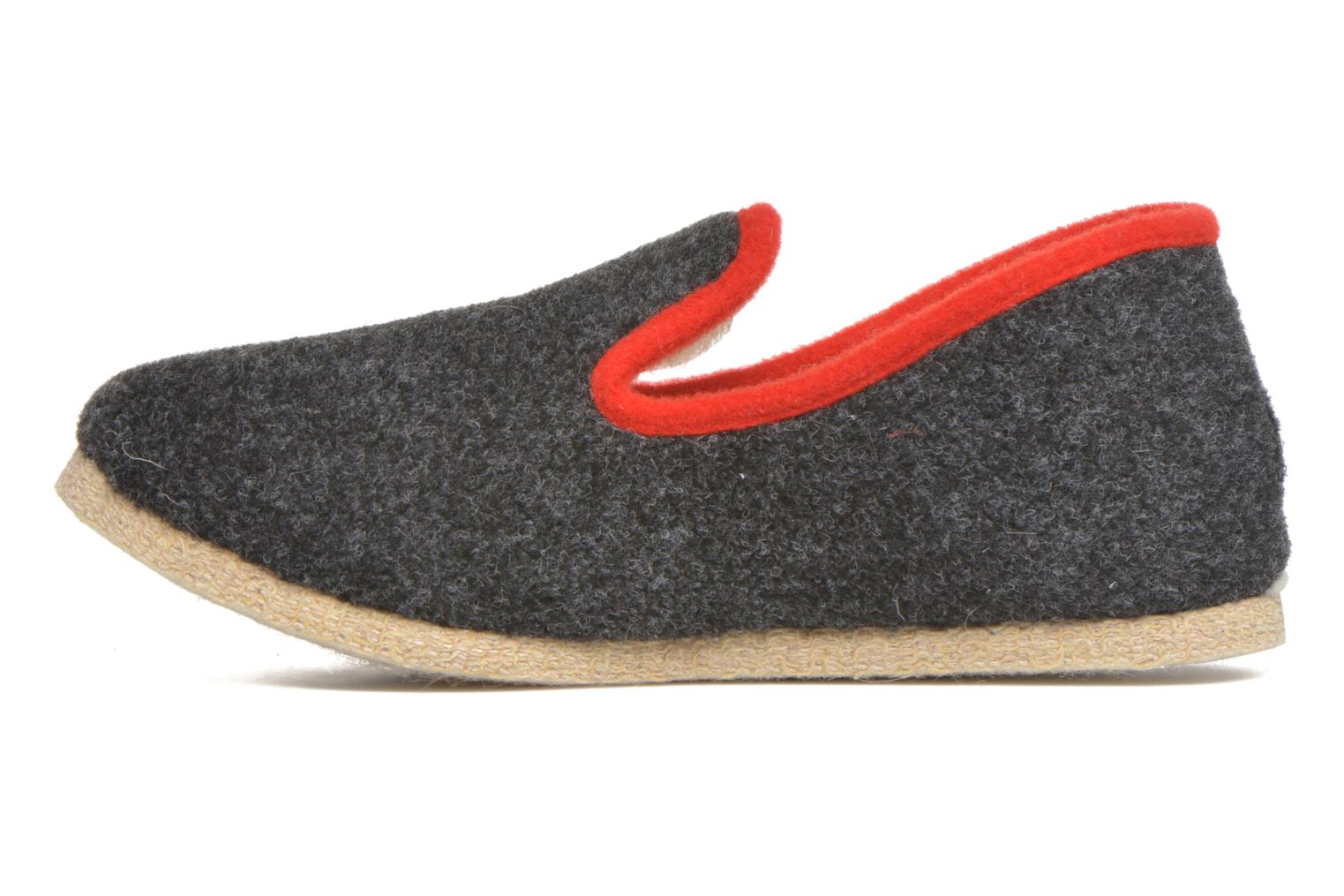 Slippers Rondinaud Calmont M Grey front view
