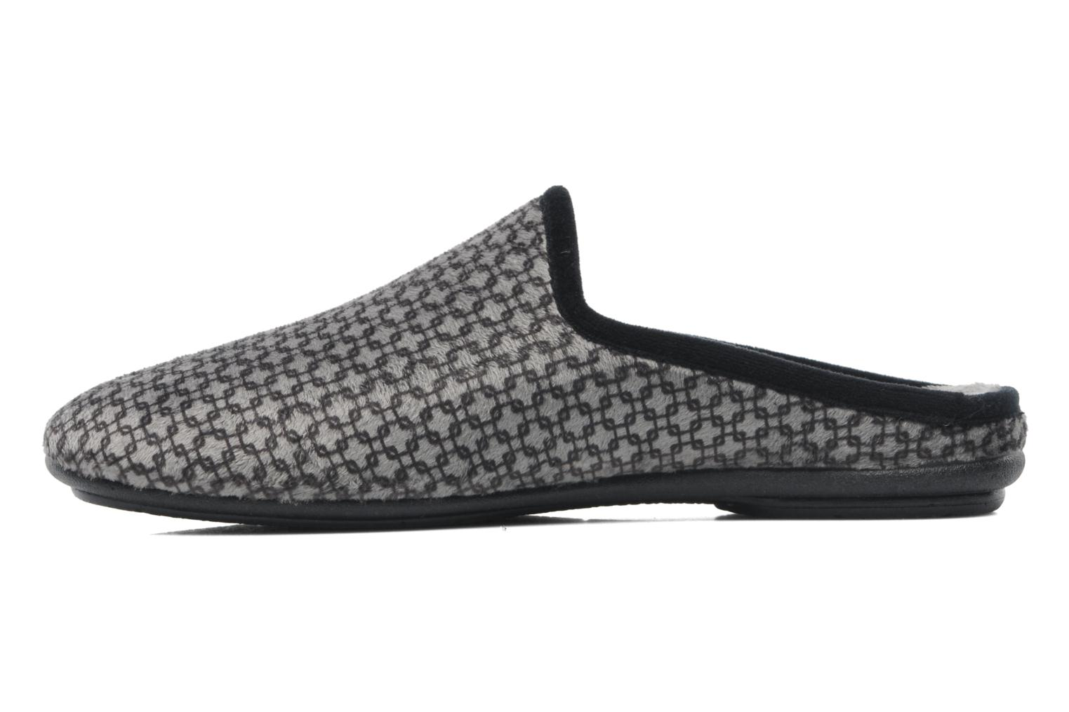 Chaussons Rondinaud Aulne Gris vue face