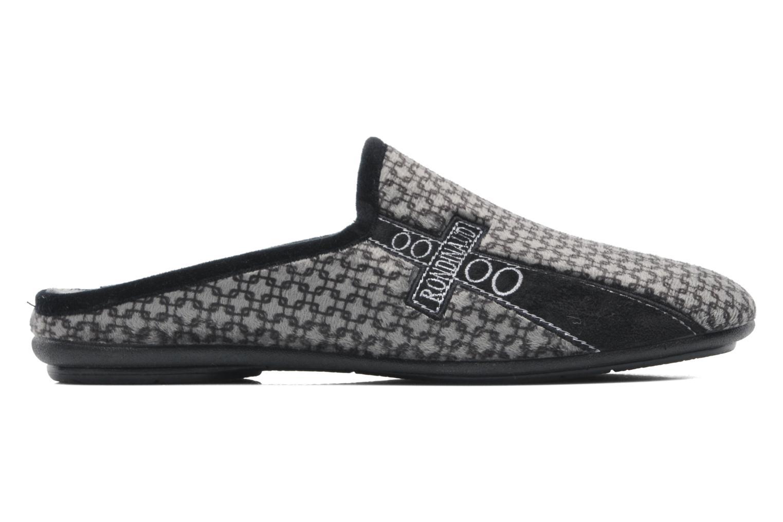 Pantofole Rondinaud Aulne Grigio immagine posteriore