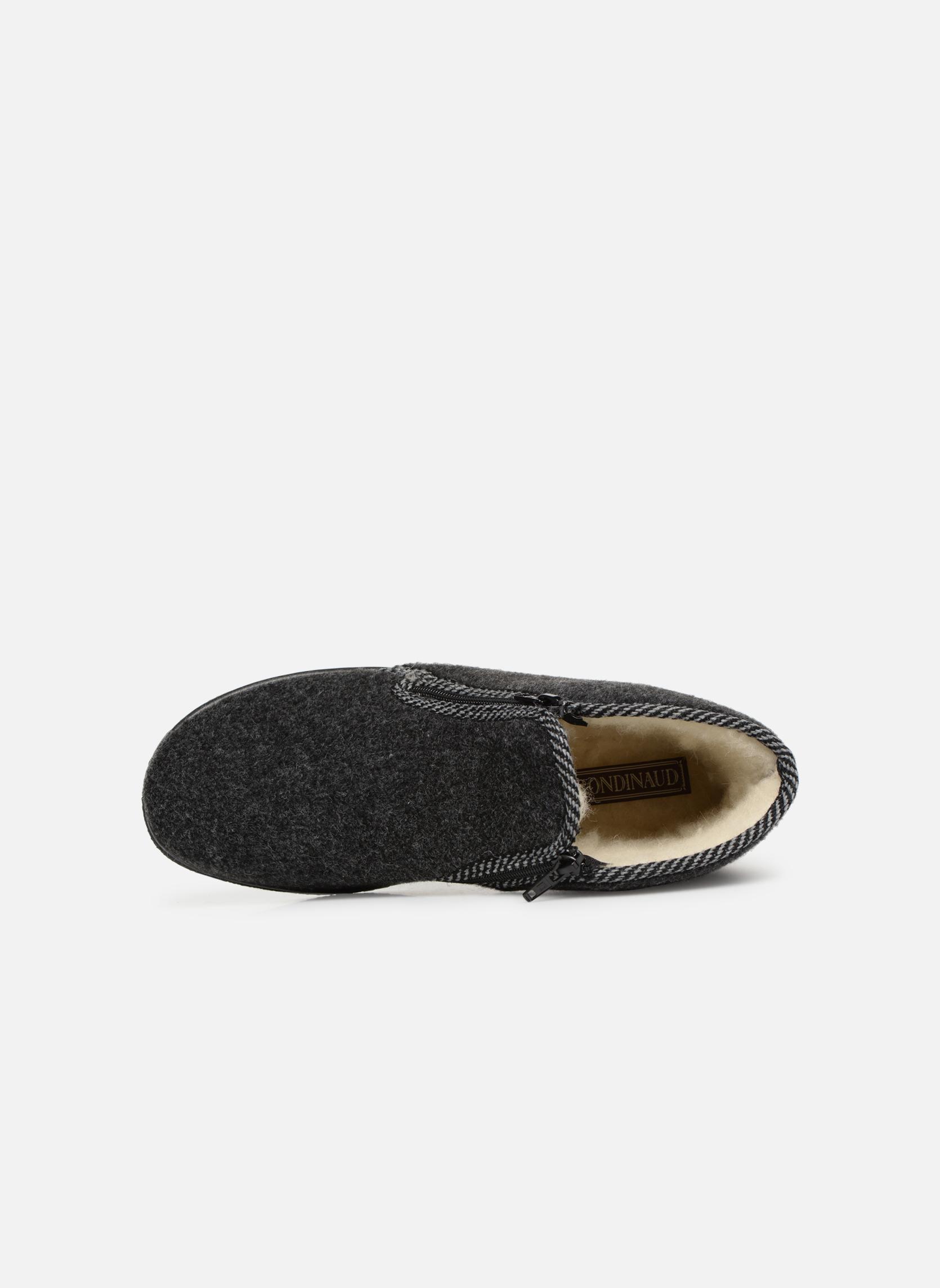 Pantofole Rondinaud Gaillard Grigio immagine sinistra