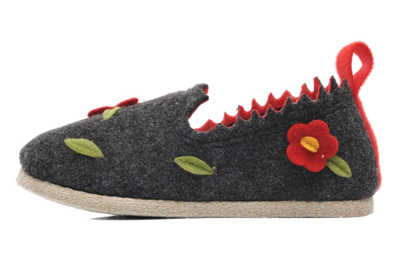 Pantoffels Rondinaud Labescau Zwart voorkant