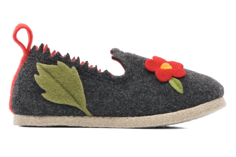 Pantoffels Rondinaud Labescau Zwart achterkant