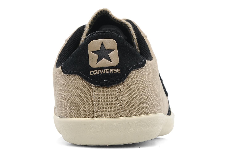 Baskets Converse plim wash ox m Beige vue droite