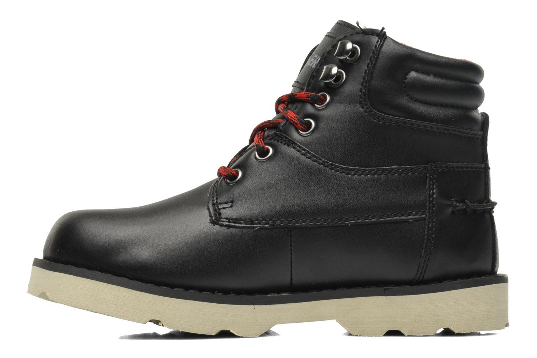 Boots en enkellaarsjes Skechers Bowland Zwart voorkant