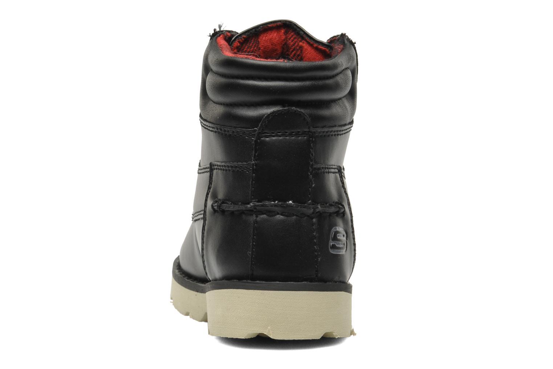 Boots en enkellaarsjes Skechers Bowland Zwart rechts