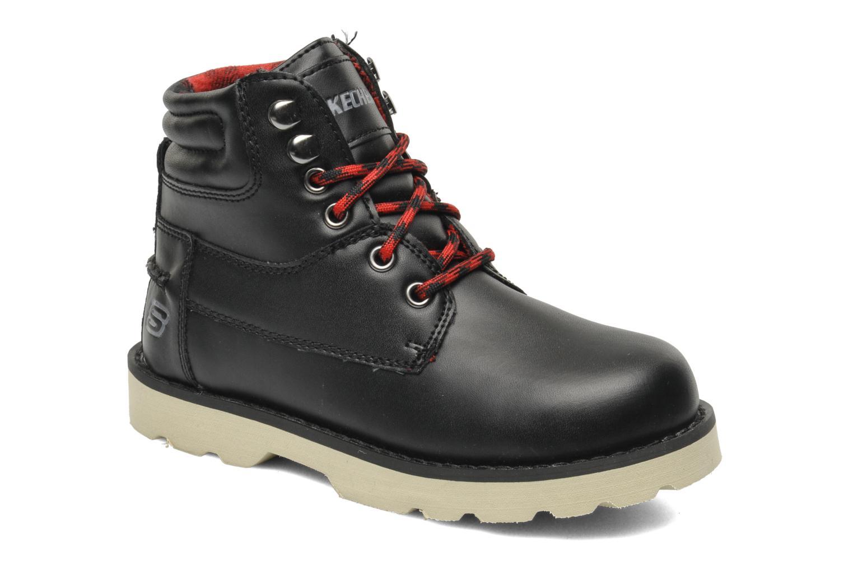 Stiefeletten & Boots Skechers Bowland schwarz detaillierte ansicht/modell