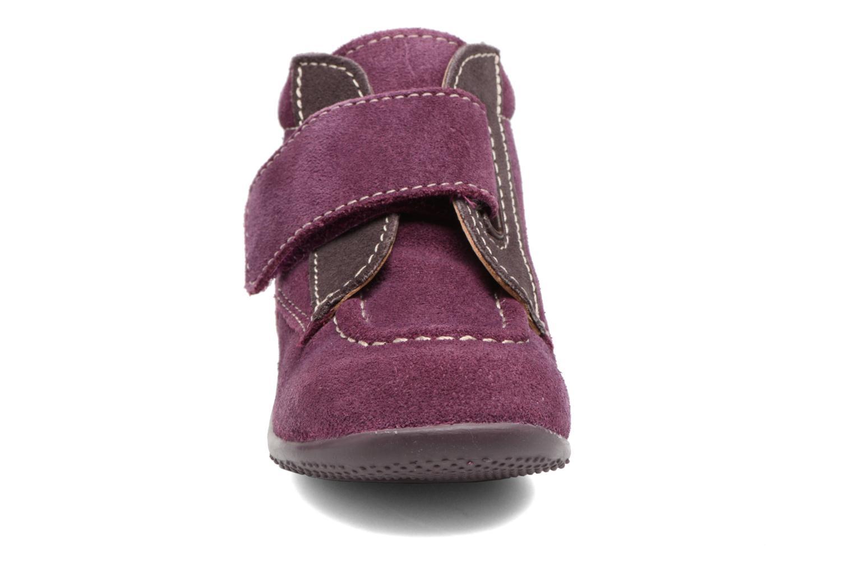 Schoenen met klitteband Kickers Bono Paars model