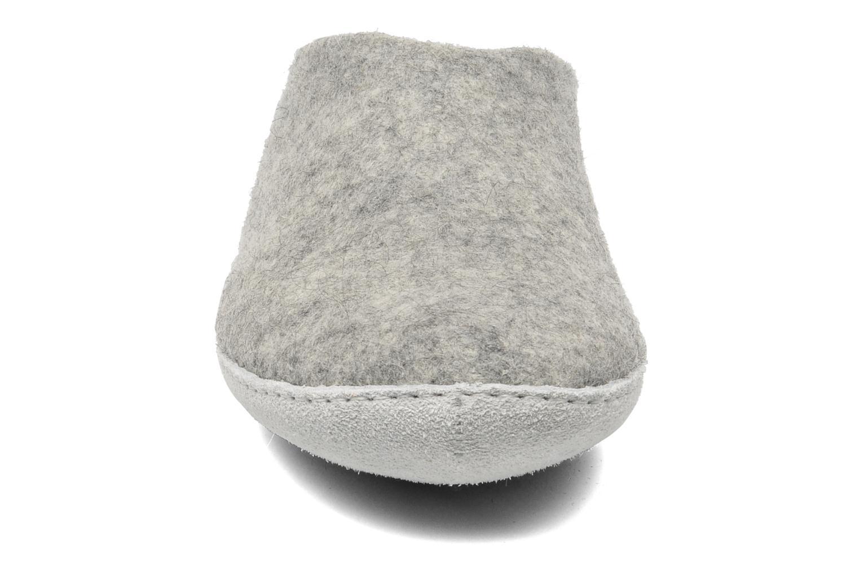 Hausschuhe Glerups Piras M grau schuhe getragen