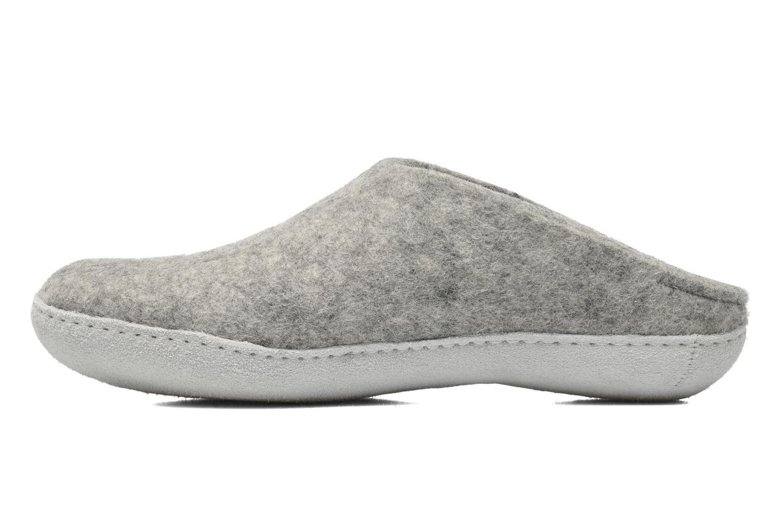 Pantoffels Glerups Piras M Grijs voorkant