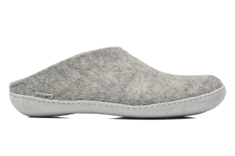 Pantoffels Glerups Piras M Grijs achterkant